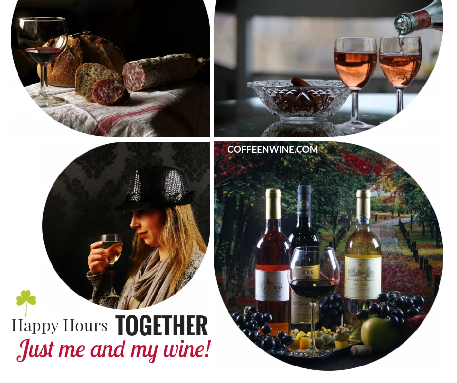 Tumblr Wine Quotes Images - Happy Hours Together Just Me And My Wine