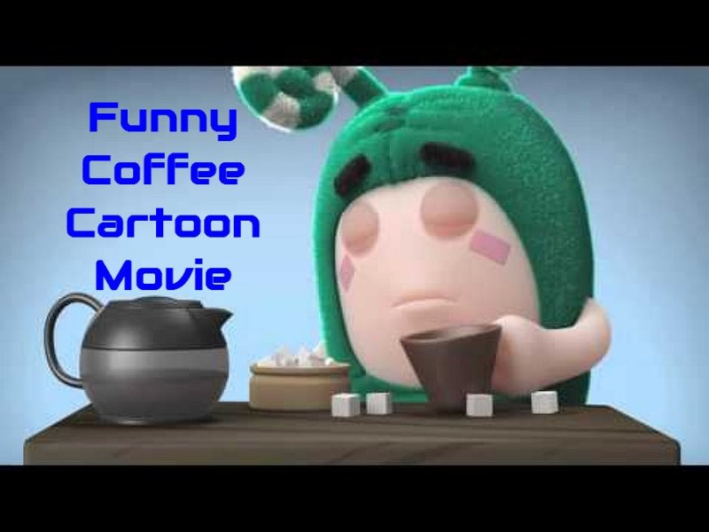 Funny Coffee Cartoon Movie