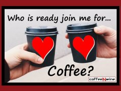 Who is Ready to Join Me for Coffee Image
