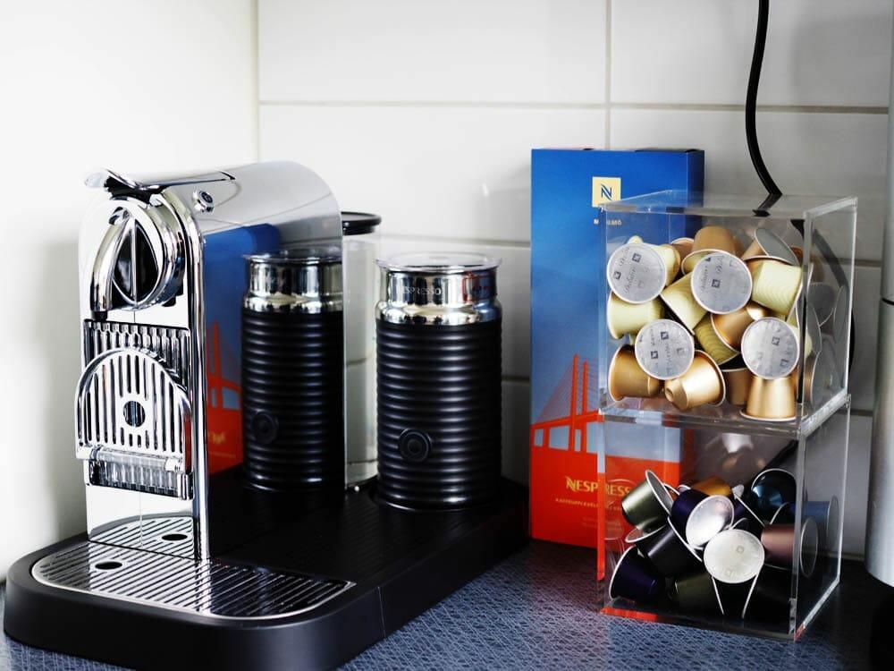 nespresso machines with pods