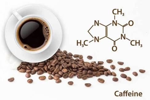 How much caffeine in a cup of coffee 1