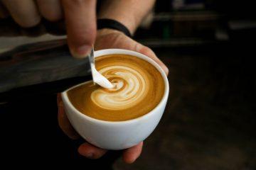 Pour Milk into Espresso