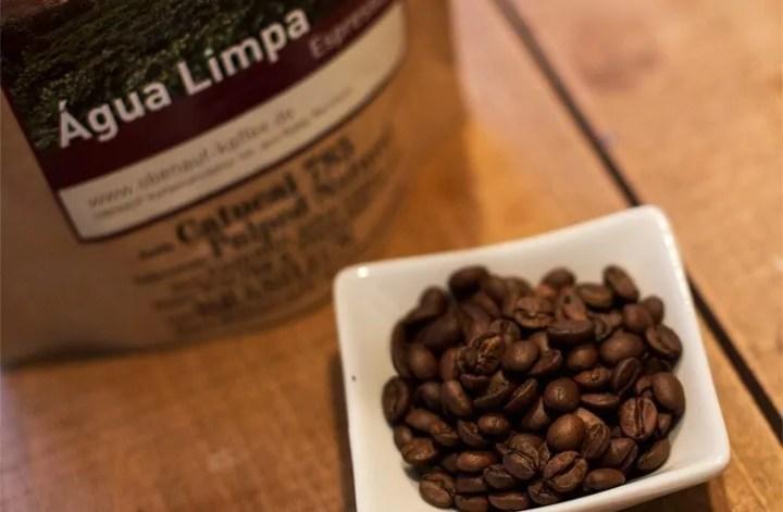 Espresso Test Obenauf Agua Limpa