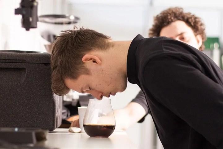 kaffeemeisterschaft - sensorik vorm brewers cup