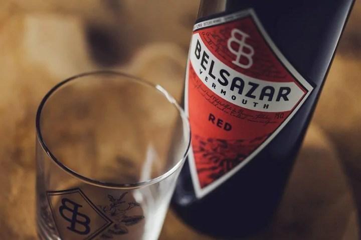Espresso-Martini Vermouth red belsazar