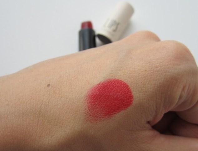 topshop lipstick hazard swatch