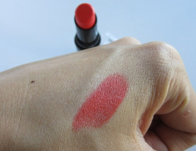 wet n wild megalast lipstick purty persimmon swatch