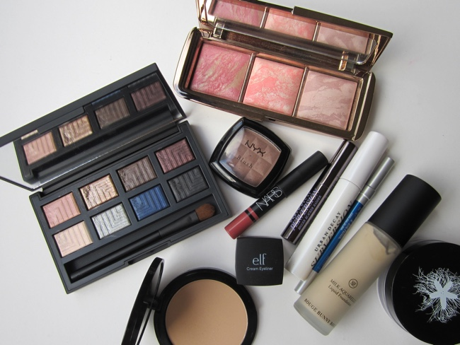 nars dual intensity palette fotd products used