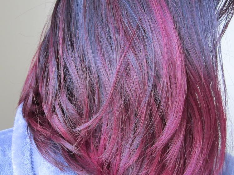 Hair Color Update Manic Panic Purple Haze Fuschia Shock