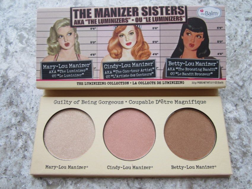 thebalm the manizer sisters mary lou manizer cindy lou manizer betty lou manizer