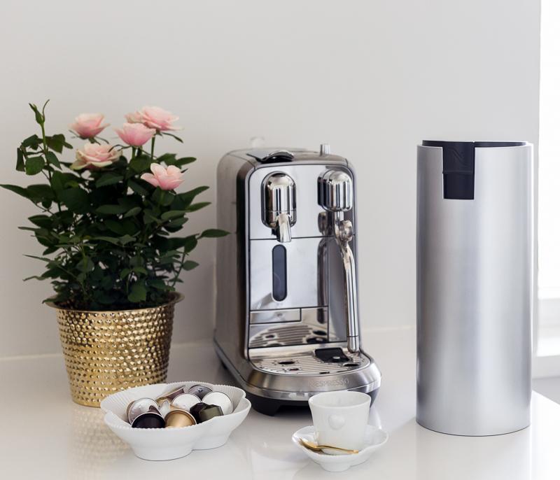 Nespresso kapselikahvikone kokemuksia, Creatista, pienmetallin kierrätys, alumiini, vastuullisuus