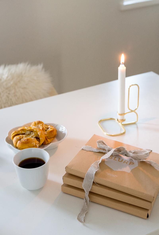 slurp kahvielämys, slurp alekoodi, millainen on hyvä joululahja, joululahjaideoita