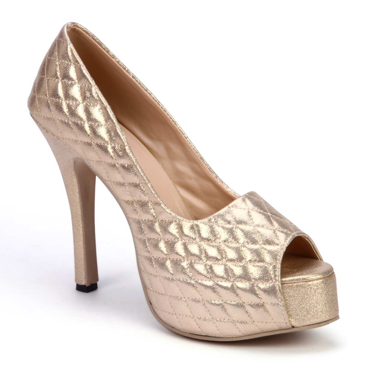 Glittery Pumps-online-Indiarush.com-shoes