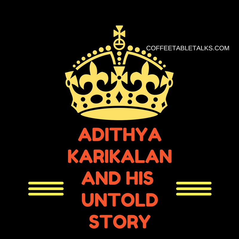 Aditiya Karikalan and his Untold Story- Sangathara