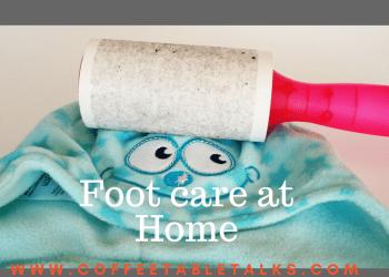 Footcare at home-coffeetabletalks