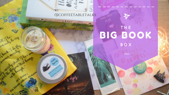 Book Subscription box in India : Big Book Box Review