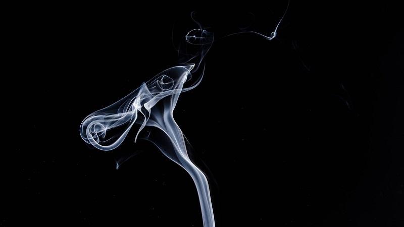 smoking tea can you
