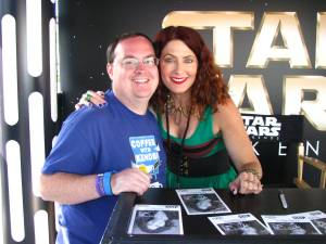 Vanessa Marshall and I
