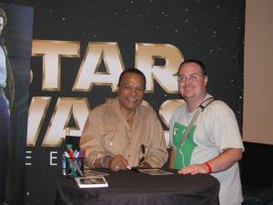 Billy Dee Williams and I