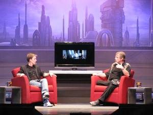 James Arnold Taylor with Mark Hamill
