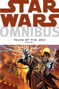 "The cover to Dark Horse Comics' ""Tales of the Jedi"" omnibus. (Image courtesy of Dark Horse Comics)"