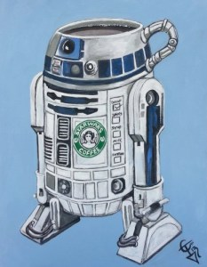 R2DECAF by Tom Carlton