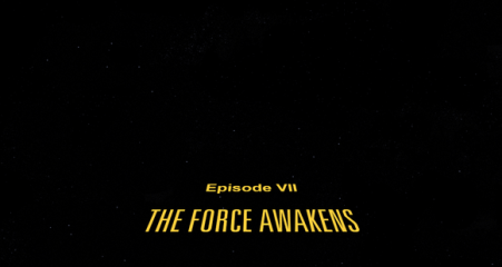 the force awakens scroll