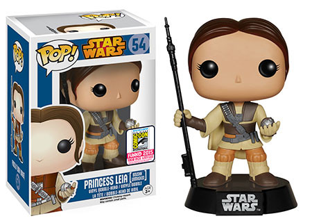 Pop! Star Wars: Princess Leia [Boushh Unmasked]