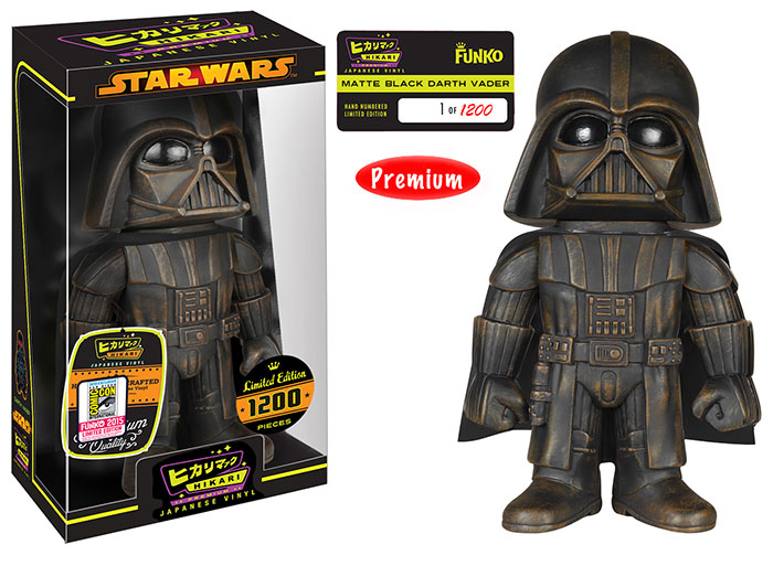 Hikari: Star Wars - Darth Vader Matte Black