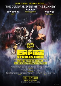 SECRET CINEMA STAR WARS POSTER - Quotes