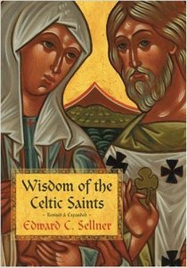 Wisdim of the Celtic Saints book cover