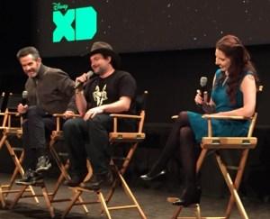 Simon Kinberg, Dave Filoni, and Amy Ratcliffe