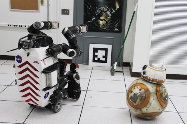 BB-8 Visits NASA's JPL