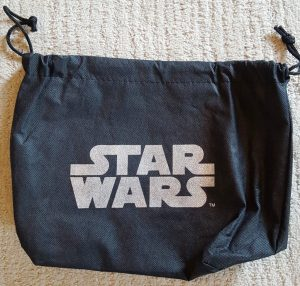 Protective bag in which my BB-8 dome purse was shipped