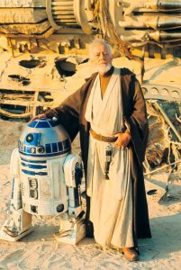 Obi-wan and R2-D2