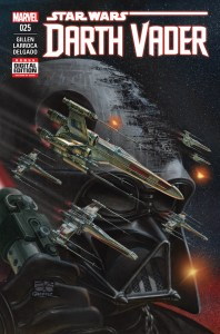 DARTH VADER #25 (JUN160929) Written by KIERON GILLEN Art by SALVADOR LARROCA & MAX FIUMARA Cover by JUAN GIMENEZ