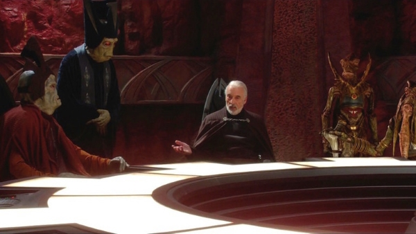 Dooku Negotiates with the Separtists