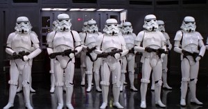 Stormtroopers in Formation