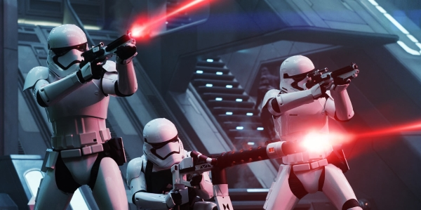 First Order Stormtroopers Aboard the Finalizer