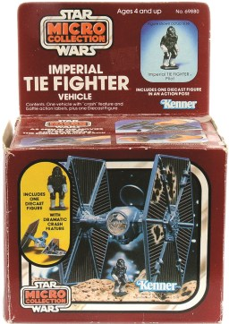 P36, The Star Wars Micro Colletion was an ambitious idea that failed to take off with kids. 1