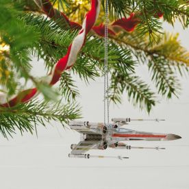 Star Wars™ X-Wing Starfighter™ Ornament With Light and Sound