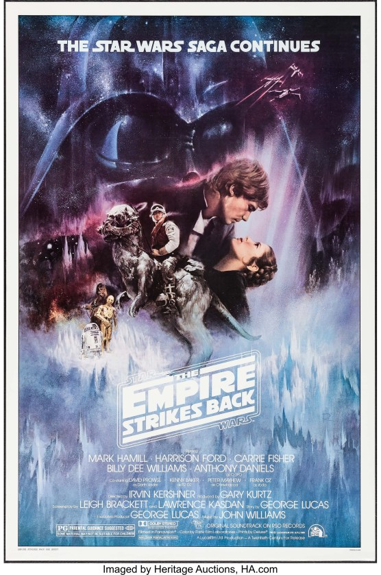Studio Approved Final Poster-The Empire Strikes Back (20th Century Fox, 1980) credit Heritage Auctions