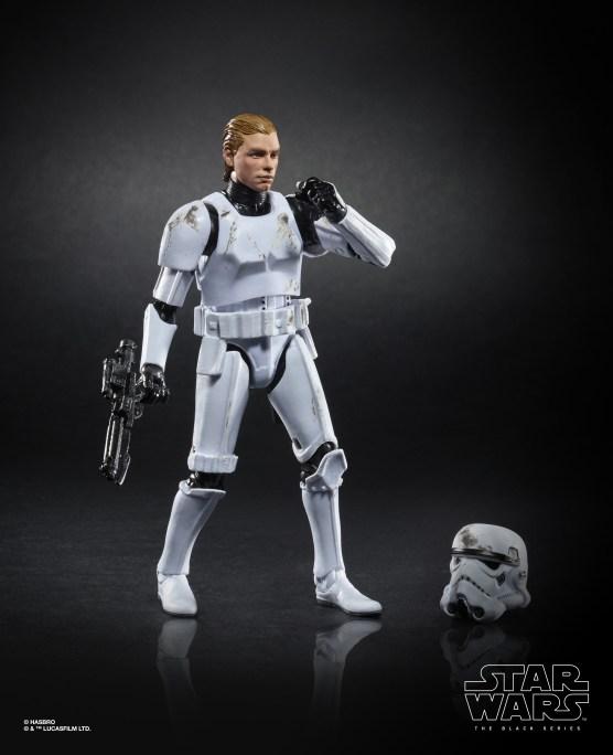 Star Wars The Black Series 6-inch Luke Skywalker (Stormtrooper Disguise) Figure 1 Target Exclusive