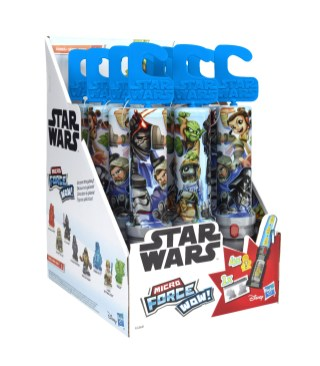 STAR WARS MICRO FORCE WOW SERIES 1 - in pck (1)