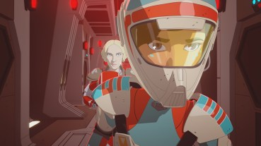 """STAR WARS RESISTANCE - """"Bibo"""" - Neeku adopts a strange sea creature and gets way more than he bargained for when it brings chaos to the platform. This episode of """"Star Wars Resistance"""" airs Sunday, Jan. 13 (10:00 - 10:30 P.M. EST) on Disney Channel. (Disney Channel) FREYA, TORRA"""