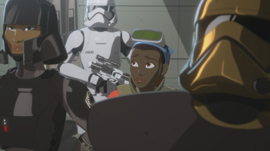 """STAR WARS RESISTANCE - Disney Channel has ordered a second season of the high-flying animated series """"Star Wars Resistance"""" for a fall 2019 premiere. The series follows Kazuda Xiono (""""Kaz""""), a young pilot recruited by the Resistance for a top-secret mission to spy on the growing threat of the First Order. Season one continues on SUNDAY, JAN. 13 (10:00-10:30 p.m. EST/PST), on Disney Channel. (Lucasfilm) TAM"""