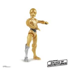 STAR WARS GALAXY OF ADVENTURES 5-INCH Figure Assortment - C-3PO (oop 1)