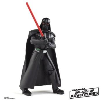 STAR WARS GALAXY OF ADVENTURES 5-INCH Figure Assortment - Darth Vader (oop 2)