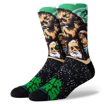 Chewbacca socks - $18 Available at stance retail and online.