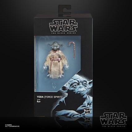 STAR WARS THE BLACK SERIES 6-INCH YODA (FORCE SPIRIT) Figure - in pck
